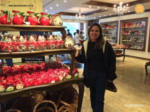 Loja de chocolate Lugano
